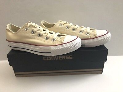 c3fb402e0c4f Converse Chuck Taylor All Star Ox Natural White M9165 Mens 4 Womens 6