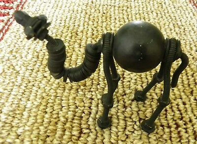 "Vintage 4""  BLACK  BALL METAL NUTS,WASHERS,BOLTS CAMEL Figurine"