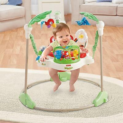 2ad7286a0 FISHER PRICE RAINFOREST Jumperoo Baby Jumper Walker Bouncer Activity ...