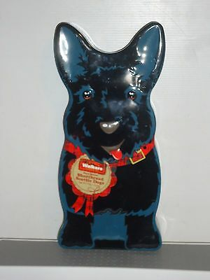 T181 Collectable Walkers 375 g Scottie Dogs Empty Tin