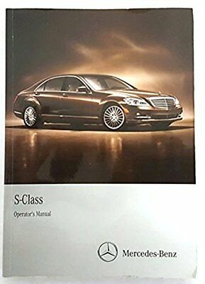 2010 Mercedes S Class Owner's Manual Set