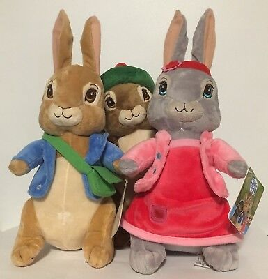 Official Beatrix Potter Peter Rabbit and Friends Plush Toys Soft Toy 30cm