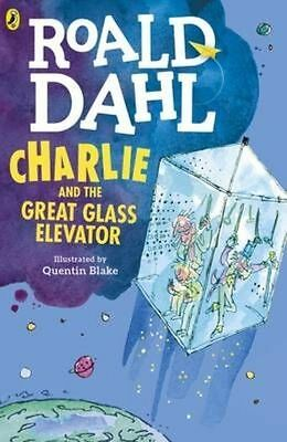Charlie and the Great Glass Elevator By Roald Dahl NEW (Paperback) Book