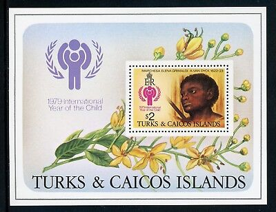 Turks & Caicos Islands Scott #390 MNH S/S Int'l Year of the Child IYC $$