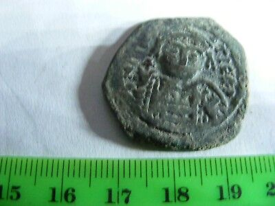 BYZANTINE Large (28mm ) Coin, Eastern Roman Empire,(B24),,very nice.