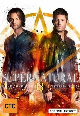 Supernatural : Season 13 (DVD, 2018, 5-Disc Set) R4
