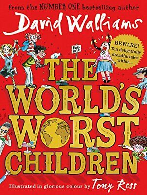 The World's Worst Children by David Walliams New Hardback Book