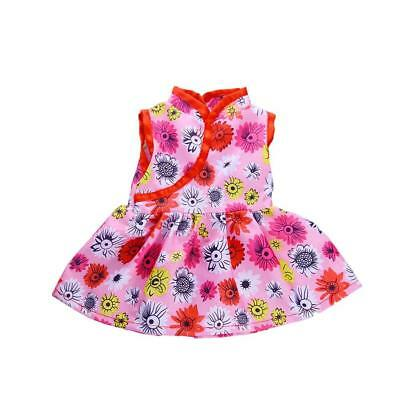 """Flower Cheongsam For 18"""" Girl Our Generation My Life Dolls Clothes Accessory~"""
