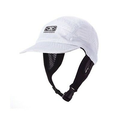 Ocean & Earth Ulu ADULT Stiff Peak Surf Kayak Fishing Hat Cap WHITE
