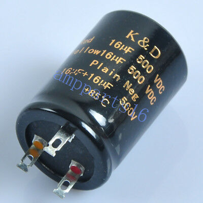 1pc 500V Electrolytic capacitor 47UF for  Guitar  Amplifier 85℃ 30x52mm