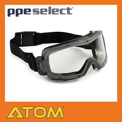 PPE Select Safety Goggles Clear Lens Foam Bound Chem/Dust Anti-Scratch/Fog