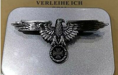 Germany Iron Cross Medal World War German Empire Eagle Emblem With Safety-Pin