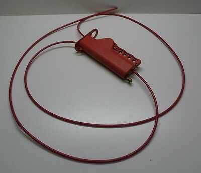 Brady 50943 All Purpose Safety Cable Lockout With 8' Sheathed Cable
