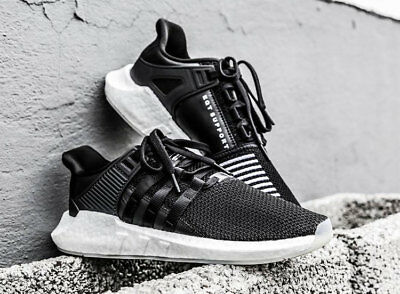Adidas Originals EQT Equipment Support 93/17 Boost BZ0585 NEU schwarz Core black