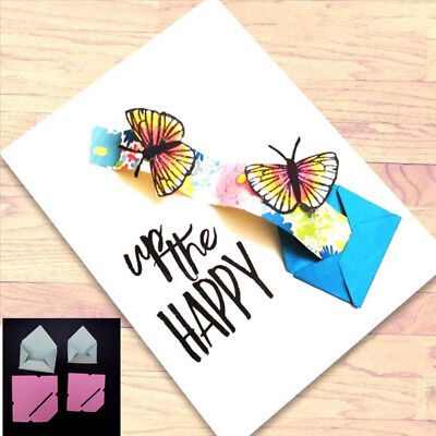 Pop up Envelope Metal Cutting Dies Stencil DIY Scrapbook Album Paper Card Craft