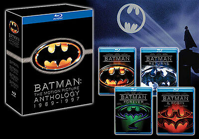 BATMAN ANTHOLOGY cofanetto 8 bluray ediz. JAPAN GIAPPONE - NO audio ITA