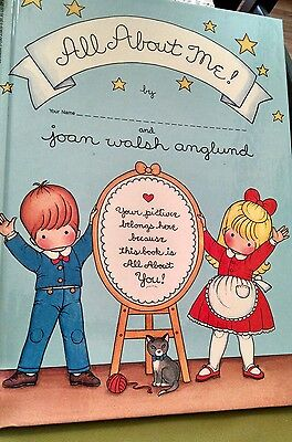 "BOOK: ""All About Me"", by Joan Walsh Anglund, 1986, HC - excellent condition!"