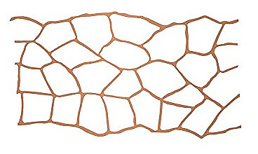 """BonWay 32-250 33"""" by 365-Feet Paper Stencils for Decorative Concrete Flagstone"""