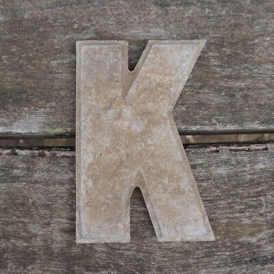 Vintage Marquee Theater Letter K Wagner Sign Service 8 Inch Antique K1