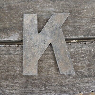 Vintage Marquee Theater Letter K Wagner Sign Service 8 Inch Antique K2