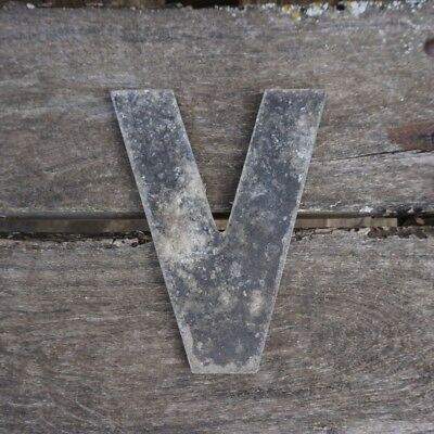 Vintage Marquee Theater Letter V Wagner Sign Service 8 Inch Antique V1