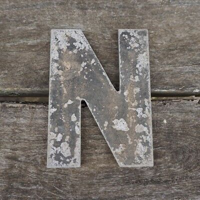 Vintage Marquee Theater Letter N Wagner Sign Service 8 Inch Antique N1