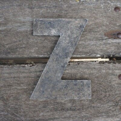 Vintage Marquee Theater Letter Z Wagner Sign Service 8 Inch Antique Z1