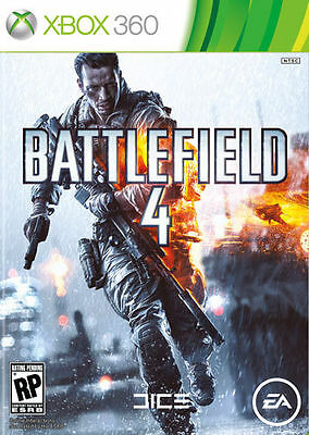 Battlefield 4 (Microsoft Xbox 360, 2013) BRAND NEW FACTORY SEALED FAST SHIPPING