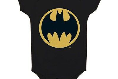 BATMAN - Baby Body Logo - Black (12 Month)