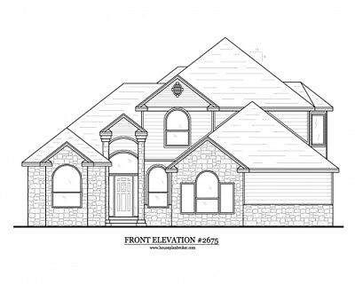 Custom set of blueprints House home design - 2,675 sq. ft. - or choose any plan