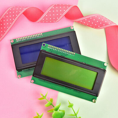 2004 20x4 Character LCD Display Module HD44780 Controller Blue/Green Blacklight%