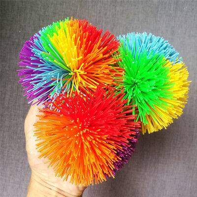 Colorful Mondo Koosh Ball Fidget Sensory Kids Stretchy Ball Toy Stress Relief