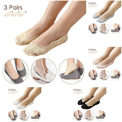 Pretty Black Womens Casual Summer Low Cut Socks Slippers Lot Bulk