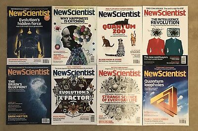 New Scientist Magazines Bundle 38 Issues From 2011