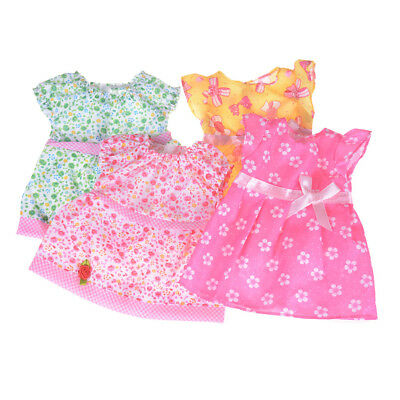 Lovely Doll Dress Clothes Fit 18 Inch American Girl 43cm Baby Born Zapf Dolls HL