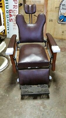 Vintage Koken, Barber Bleeder chair