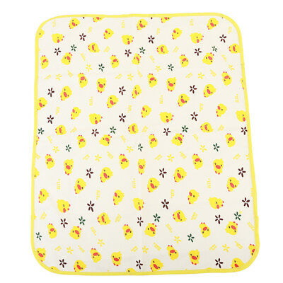Baby Kids Changing Mat Waterproof Urine Pad Mat Cotton Washable Bed Sheet Pad OS