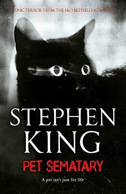 Pet Sematary by Stephen King New Paperback Book