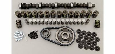 COMP CAMS HYD FLAT CAMSHAFT DUR 292//292 LIFT .501//.501 LIFTERS TIMING CHAIN SET