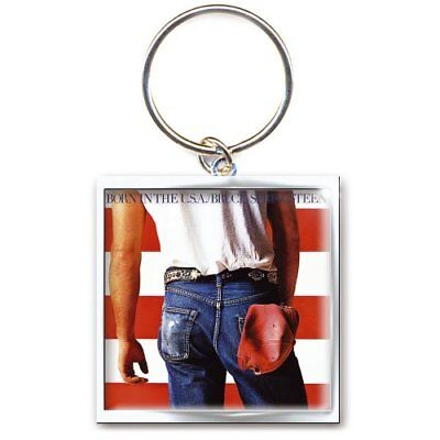 Bruce Springsteen Born In The USA Metal Keychain