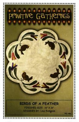 Birds of a Feather Table Mat Pattern Primitive Gatherings Spring Summer