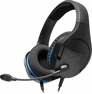 HyperX - Cloud Stinger Core Wired Stereo Gaming Headset for PS4 - Black
