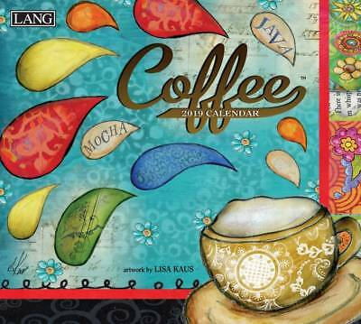 Coffee 2019 Wall Calendar by Lang, Postage Included