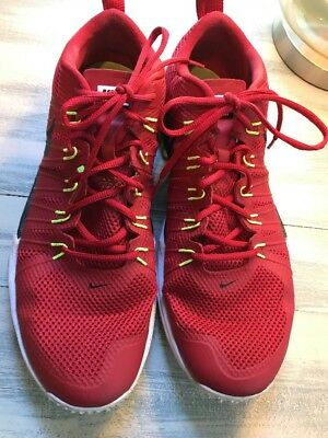68e706d78bad NIKE LUNAR TR1 Flywire Red Athletic Shoes Sz 14 -  12.00