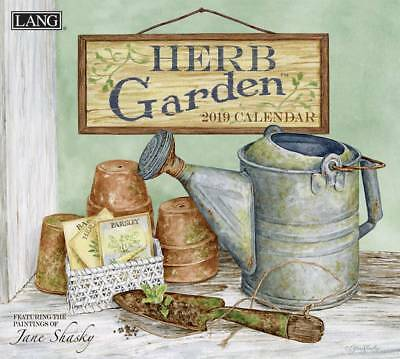 Herb Garden 2019 Wall Calendar by Lang, Postage Included