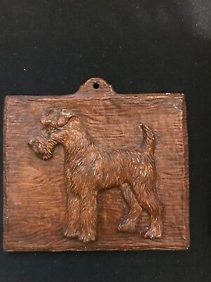 Small Syreco Terrier Plaque