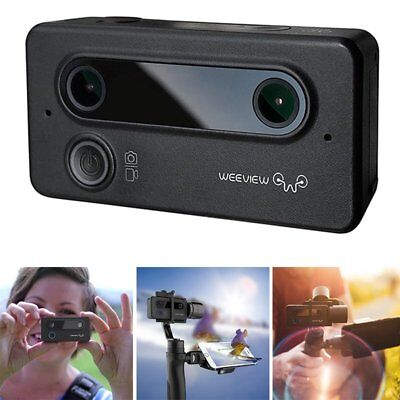 Weeview SID 3D Camera Dual 155° Wide-angle Lens 3K (2880x1440) / 30fps SBS Video