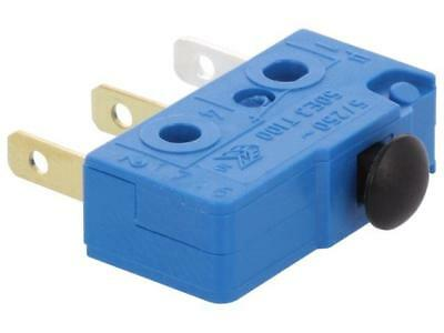1050.1202 Microswitch without lever SPDT 5A/250VAC OFF-ON -40÷100°C  MARQUARDT