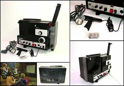 1970's HANIMEX SR9000 Super 8 8mm Movie Projector with Sound