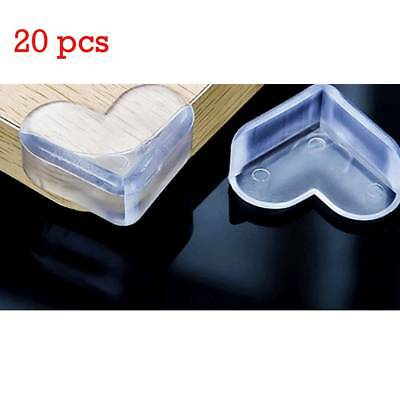 20 X Heart-shaped Soft Corner Protectors Baby & Child Furniture Protection